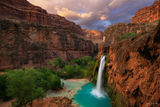 Grand Canyon, Arizona, Canyon, Havasupai Falls, Havasu Falls, Havasu, Havasupai, Falls, Havasu Creek, Supai, waterfall, blue, green, Garden of Eden, Eden