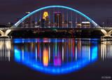 Minnesota, Minneapolis, Lowry Avenue Bridge, Lowry, Bridge, Mississippi River, Lowry Luminance, Lowry, River