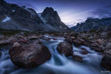 Greenland, Southern Greenland, Mystic Twilight, Twilight