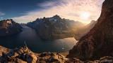 Greenland, Southern Greenland, Pinnacle, Point