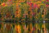 Groton State Forest, Vermont, Groton, Forest, Fall, Autumn, Leaf, Color, Foliage, Reflections of Change, Reflection, Fall Foliage, Red, Yellow, Orange, Green, Trees, Fall Colors, autumn foliage, Autum