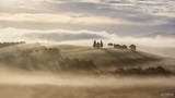 Val d'Orcia, Tuscany, Italy, Chapel of the Madonna di Vitaleta, Chapel, Vitaleta, San Quirico d'Orcia, Church, Spellbound