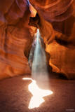 Page, Arizona, Antelope Canyon, Slot Canyon, Navajo Sandstone,  Spirit Animal