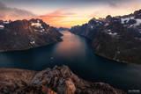Greenland, Southern Greenland, The Great Divide, Fjord, Fjords, Ocean, Glacier