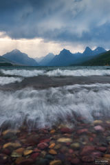Glacier National Park, Montana, Lake McDonald, A Stormy Brew, Rocky Mountains
