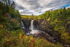 Pigeon River High Falls, Minnesota, Ontario, Autumn Rush, Canada, Lake Superior, Waterfall