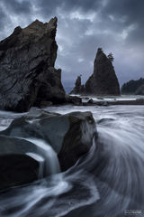 Rialto Beach, Olympic National Park, Washington, Awaken, Pacific Ocean, Quillayute River