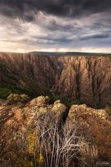 Black Canyon of the Gunnison National Park, Colorado, Black Rain