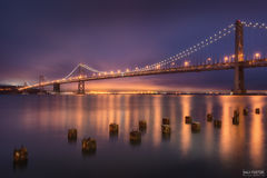 San Francisco, California, Bridge of Light, Oakland Bay Bridge