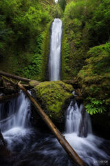 Gorton Creek Falls, Oregon, Divide and Conquer