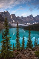 Moraine Lake, Alberta, Canada, Banff National Park, Lake Louise, Enchanted Waters