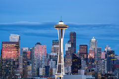 Seattle, Washington, Eye of the Needle, Seaport, West Coast, Puget Sound, Pacific Ocean, Space Needle