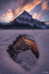 Tangle Peak, Jasper National Park, Canada, Canadian Rockies, Canadian Rocky Mountains, Flaming Peak