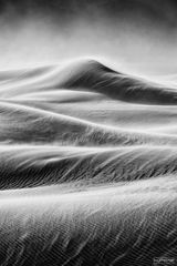 Mesquite Flat Sand Dunes, Death Valley National Park, California, Fury