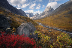 Arrigetch Peaks Wilderness, Gates of the Arctic National Park, Alaska, Gates of the Arctic