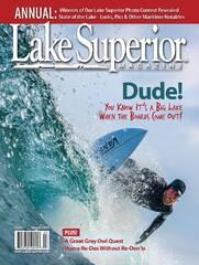 Lake Superior Magazine, March 2019, Minnesota Imagery, Superior Vista, Palisade Head
