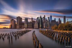 New York City Skyline, New York Piers, Manhattan Skyline, East River, NYC Skyline