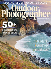 Outdoor Photographer Magazine, Special Issue 2019, Stunning Locations for Nature & Wildlife, Trillium Lake, Trillium Twilight