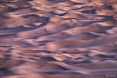 Mesquite Flat Sand Dunes, Death Valley National Park, California, Ripple Effect