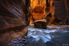 Zion National Park, Utah, The Narrows, Rock of Ages