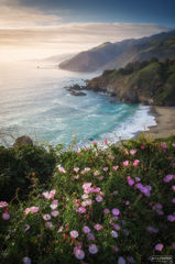 Big Sur, California, Seaside Melody, Pacific Ocean, PCH, Pacific Coast Highway, Santa Lucia Mountains