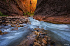 Zion National Park, Utah, Swept Away, The Narrows, Virgin River, Zion Canyon