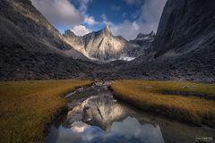 Arrigetch Peaks Wilderness, Gates of the Arctic National Park, Alaska, The Citadel