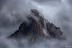 Zion National Park, Utah, Zion, National Park, Mountains, The Dark Knight, The Watchman, Zion Canyon