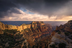 Grand Canyon National Park, Arizona, Cape Royal, The Throne