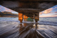 Hanalei Bay Pier, Kauai, Hawaii, Understudy, Beach
