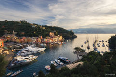 Italy, Fishing Village, Holiday Resort, Italian Riviera, harbor, picturesque, famous, With Love From Portofino