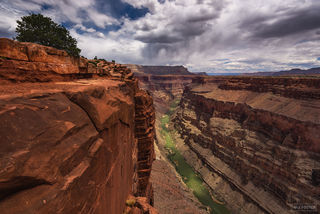 Grand Canyon National Park, Arizona, Toroweap Overlook, North Rim, Colorado River, Desert Mirage