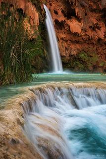 Grand Canyon, Arizona, Havasupai Falls, Havasu Falls, Havasupai, Havasu Creek, Supai, Desert Oasis, Waterfall