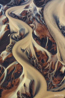 Iceland, River, Elemental, Braided River, Braided Channel