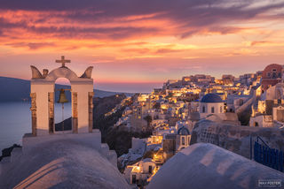 Oia, Santorini Island, Greece, Cyclades, Glowrious