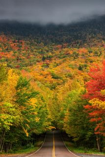 Smugglers Notch, Vermont, Into the Woods, Green Mountains, Lamoille County, Mount Mansfield State Forest