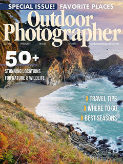 Outdoor Photographer Magazine, Special Issue 2019, Stunning Locations for Nature & Wildlife, Trillium Lake, Trillium Twilight