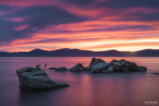 Lake Tahoe, Nevada, Pretty In Pink, Freshwater Lake
