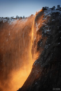 Horsetail Falls, Yosemite National Park, California, Sierra Nevada, Waterfall, Firefall, The Cauldron