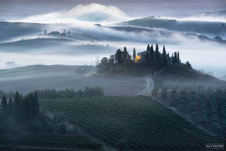 Val d'Orcia, Tuscany, Italy, Unfolding Beauty, Agritourism, farm