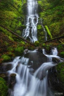 Veiled, Washington, Long Exposure Photography, Waterfalls