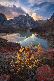 Arrigetch Peaks Wilderness, Gates of the Arctic National Park, Alaska, Wild Awakening