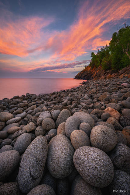 Minnesota, Boulder Beach, Silver Bay, Rock, Stones