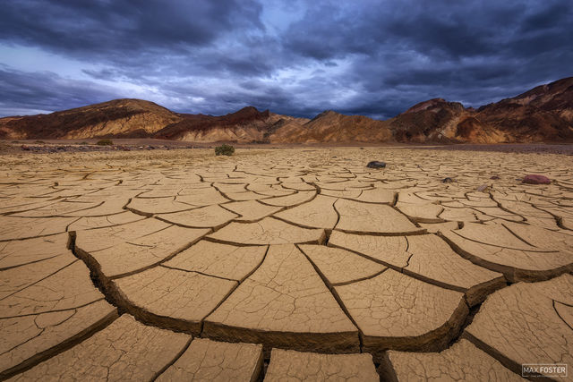 Death Valley National Park, California, Hot, Desert, Rain Shadow, Crack Addict