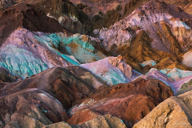 Death Valley National Park, Artist's Palette, Artist's Drive, California, Desert Gelato