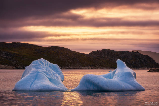 Greenland, Southern Greenland, Fire and Ice, Fire, Ice, Water