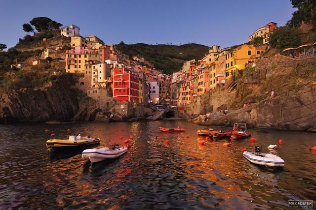Riomaggiore, Cinque Terre, Italy, Fishermen's Harbor, Harbor, Fishing Village