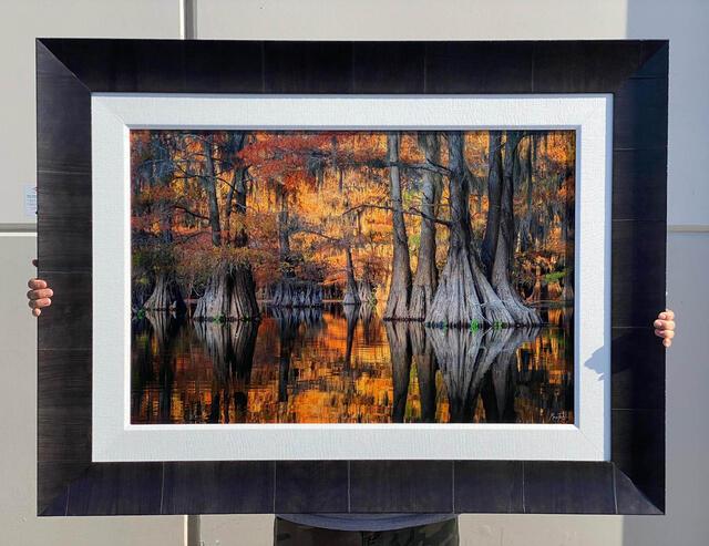 Golden Glory 24x36 Trulife Acrylic Framed