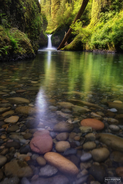 Punchbowl Falls, Oregon, Gran Finale, Columbia River Gorge, Waterfall, Punch Bowl Falls