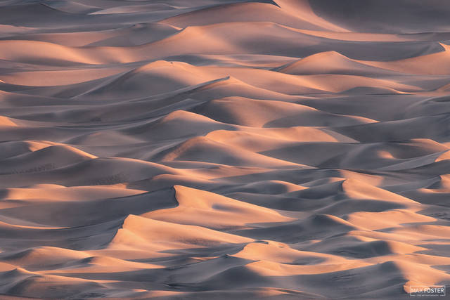 Mesquite Flat Sand Dunes, Death Valley National Park, California, Infinite